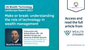 US Wealth Technology Landscape Report 2021